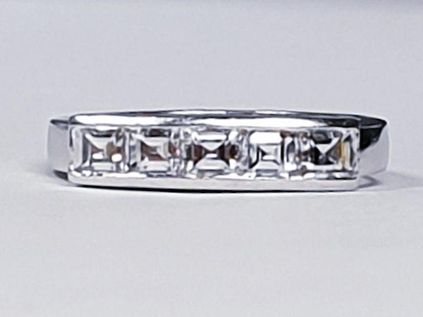 Square diamond line ring  sku 4408   DBGEMS - image 6