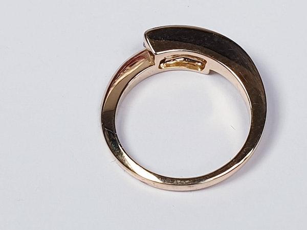 Three stone diamond ring  SKU 4432   DBGEMS - image 3
