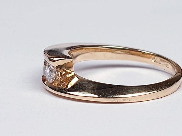 Three stone diamond ring  SKU 4432   DBGEMS - image 4