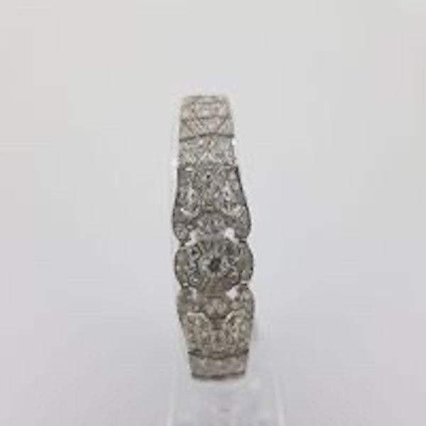 Art Deco Tapered Bracelet - image 3