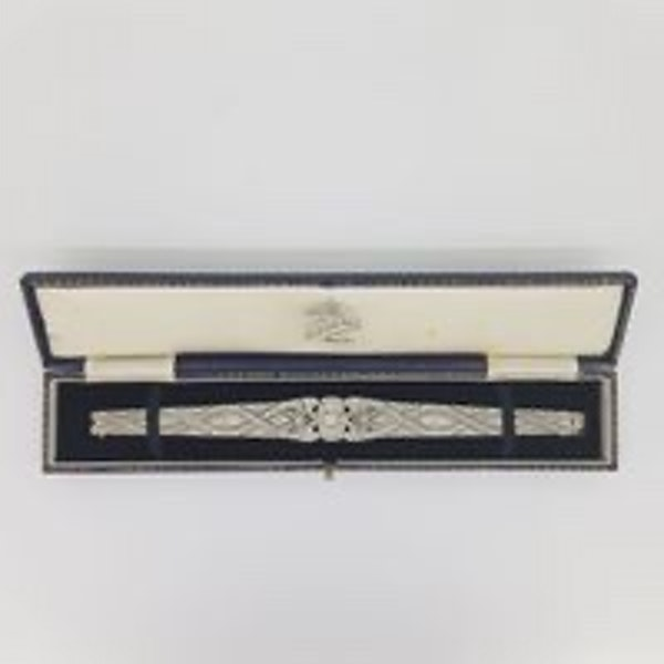 Art Deco Tapered Bracelet - image 5