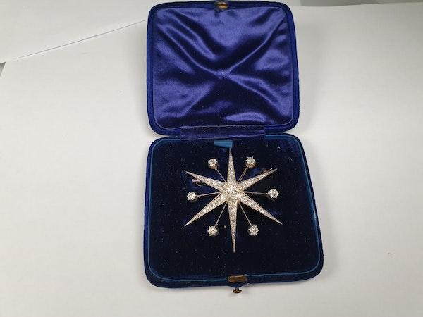 Antique diamond star  DBGEMS - image 4