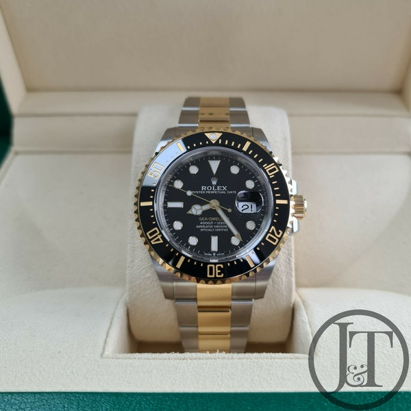 Rolex Sea-Dweller 126603 Steel and Gold - image 1