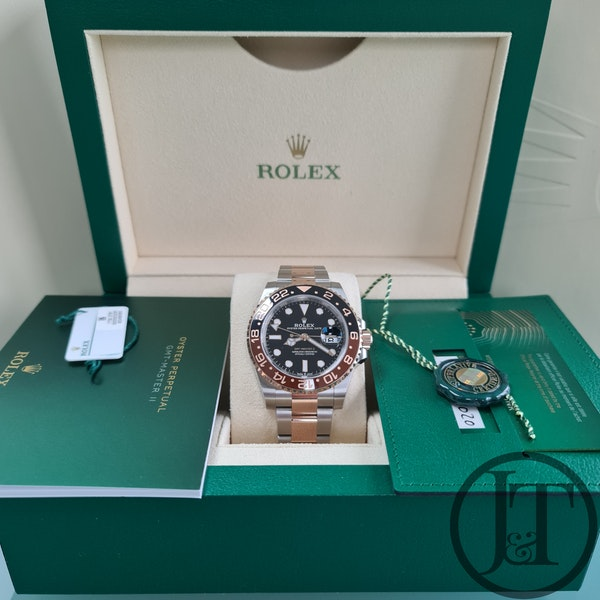 """Rolex GMT Master II 126711CHNR """"Root Beer"""" - image 6"""