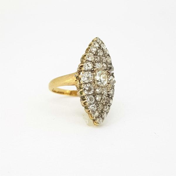 Edwardian diamond ring - image 3