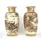 Pair Japanese Satsuma vases with decoration of Samurai - image 11