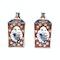Pair Japanese imari square vases - image 5