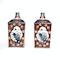 Pair Japanese imari square vases - image 3
