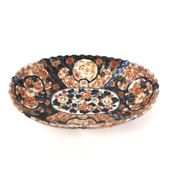 Japanese imari bowl - image 5