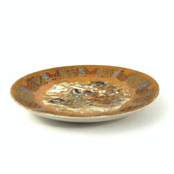 Japanese satsuma plate - image 2