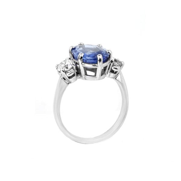 Sapphire & diamond ring. Spectrum Antiques - image 2