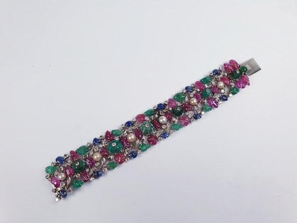 Tutti Frutti Gem Stone Bracelet  DBGEMS - image 2