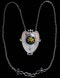 Nelson & Edith Dawson. An Arts & Crafts / Art Nouveau silver and enamel pendant. - image 2
