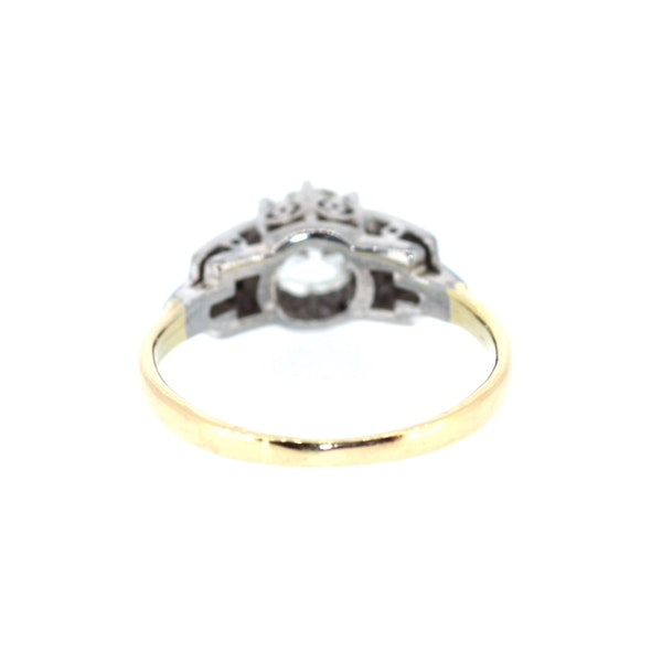 1.3ct Old Cut Solitaire Ring. S.Greenstein - image 3