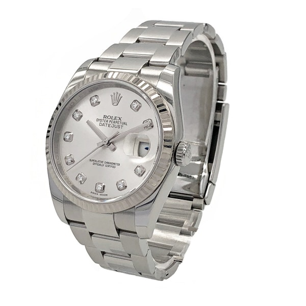 ROLEX DATEJUST 116234 DIAMOND DIAL - image 2