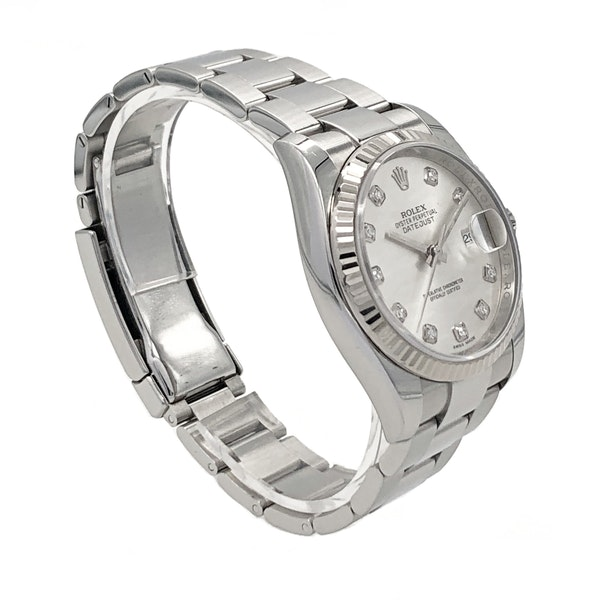 ROLEX DATEJUST 116234 DIAMOND DIAL - image 3