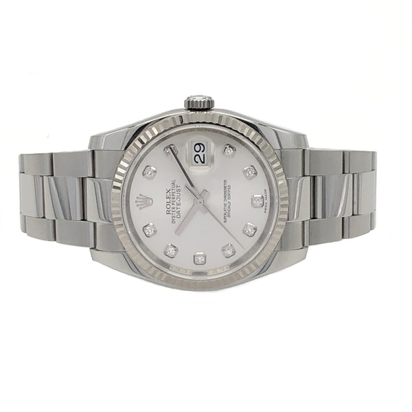 ROLEX DATEJUST 116234 DIAMOND DIAL - image 4