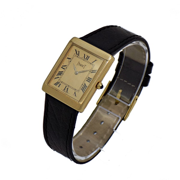 PIAGET VINTAGE SQUARE MANUAL WINDING - image 2