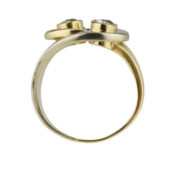 Infinity Design Diamond Ring - image 2