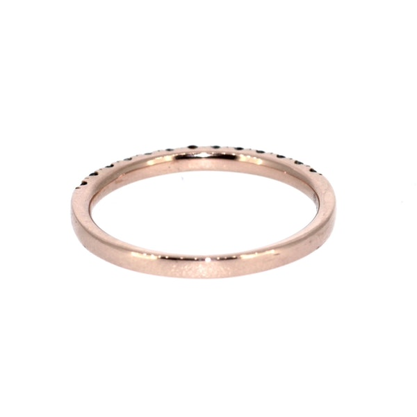 Cognac Diamond Half Eternity Ring. S.Greenstein - image 3
