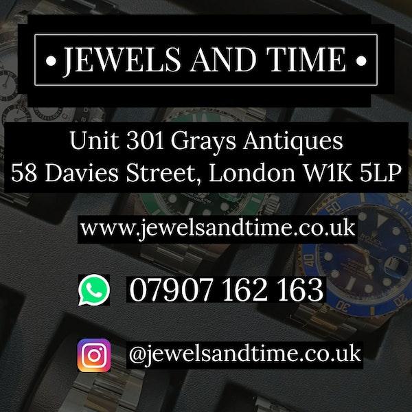 Rolex Datejust 36 126234 Black Diamond Dial Jubilee - image 6
