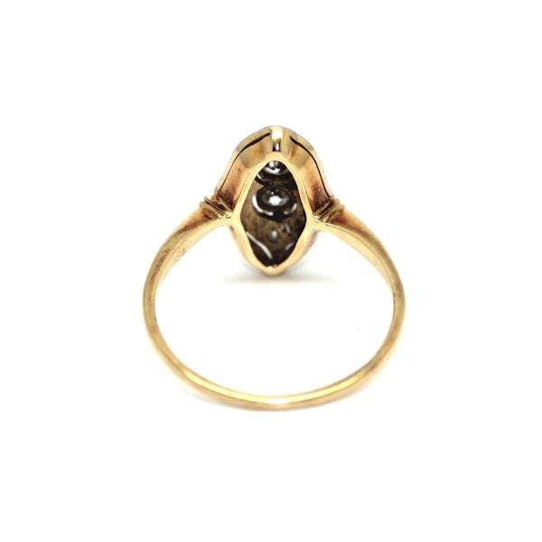 Art Deco 1930's Diamond Up-Finger Ring. S.Greenstein - image 3