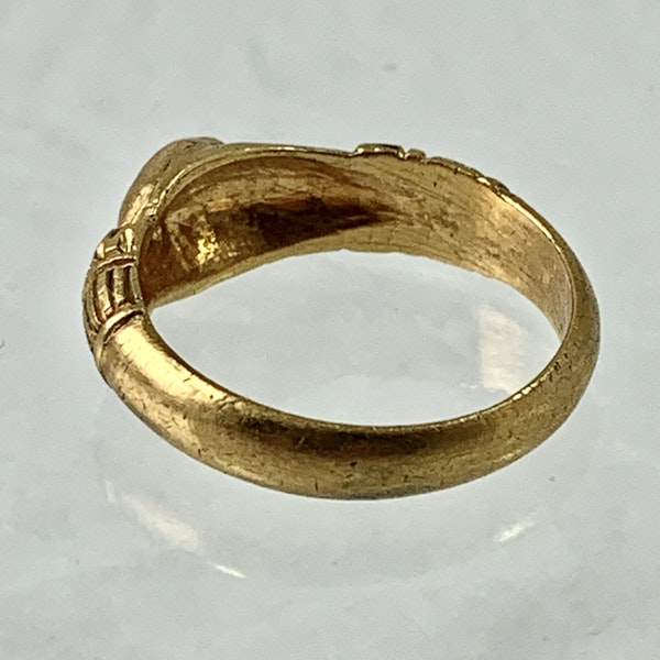 Ca 1620 Fede ring - image 2