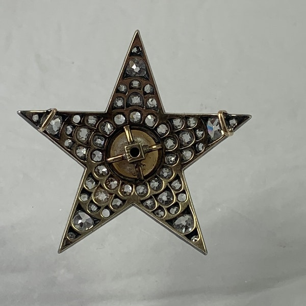 Diamond star pendant - image 2