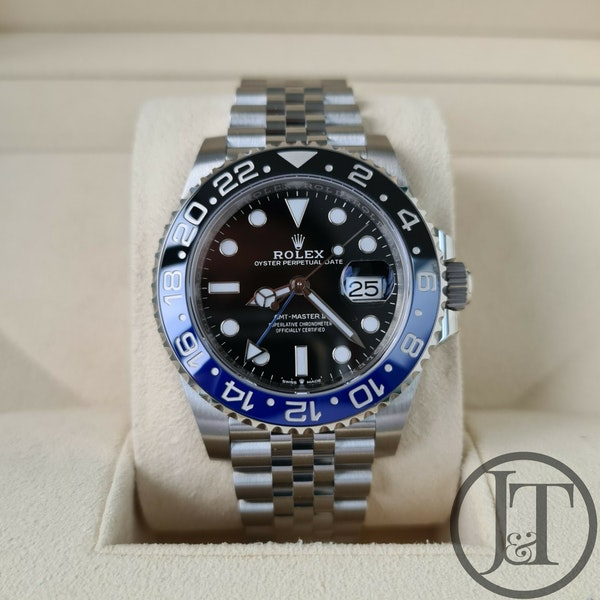 "Rolex GMT Master II 126710BLNR ""Batman"" Jubilee - image 1"