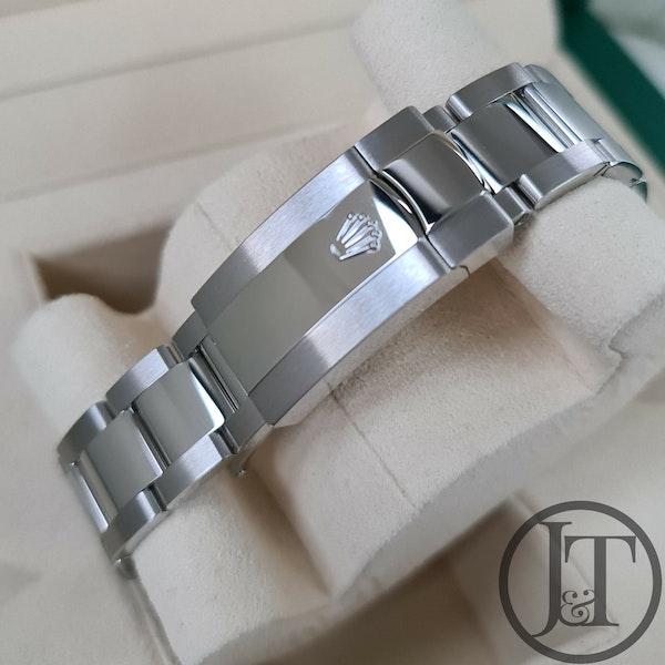 Rolex Datejust 41 126334 Slate Roman Wimbledon Dial Oyster - image 5