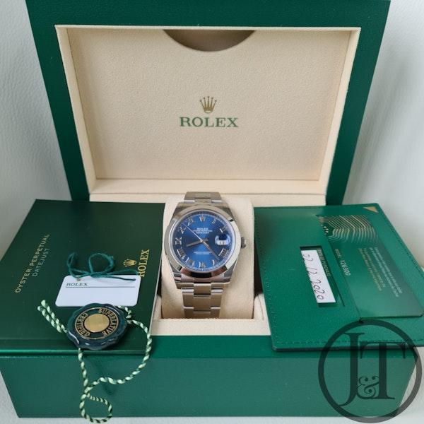 Rolex Datejust 41 126300 Azzurro Blue Dial - image 7