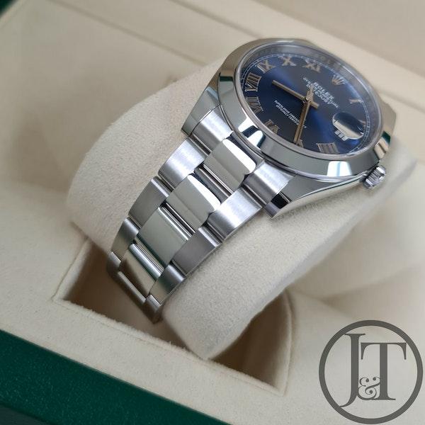 Rolex Datejust 41 126300 Azzurro Blue Dial - image 5