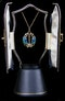 Archibald Knox for Liberty & Co. An Arts & Crafts / Art Nouveau gold enamelled pendant. - image 3