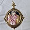 Italian 1660 devotional gold pendant - image 2