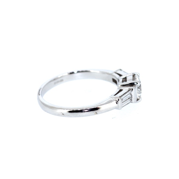 0.90 Carat Diamond Solitaire Ring. S.Greenstein - image 4