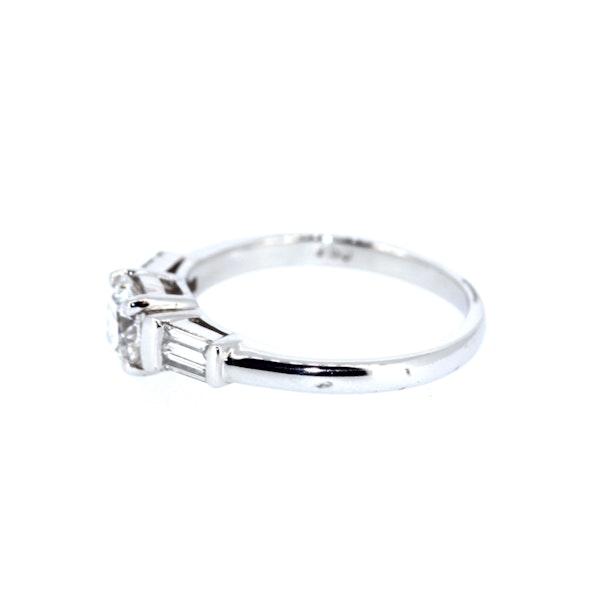 0.90 Carat Diamond Solitaire Ring. S.Greenstein - image 2
