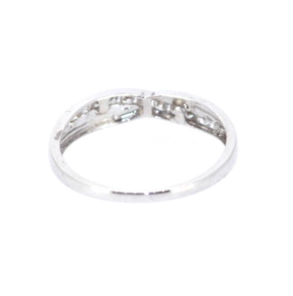 Diamond Twist Half Eternity Ring. S.Greenstein - image 3