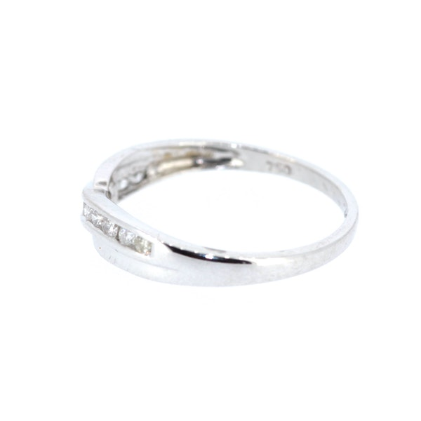 Diamond Twist Half Eternity Ring. S.Greenstein - image 2