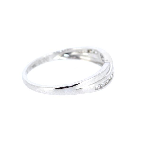 Diamond Twist Half Eternity Ring. S.Greenstein - image 4