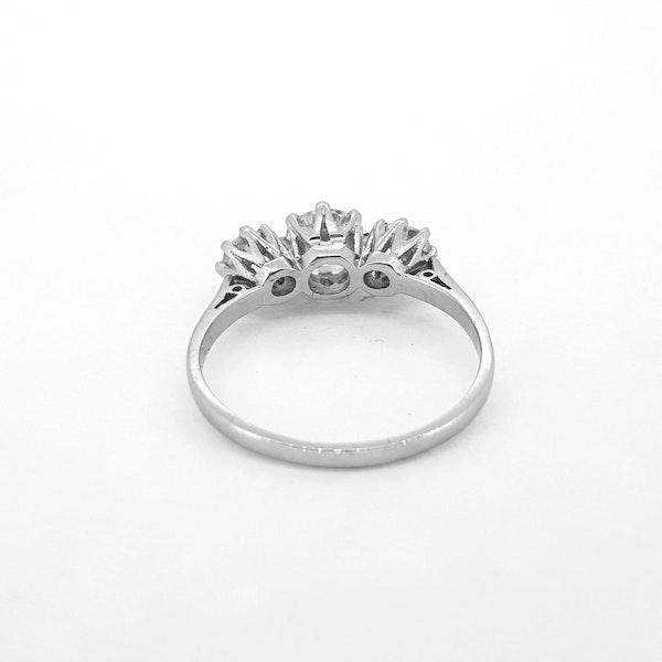Diamond Trilogy Ring c1930 - image 2