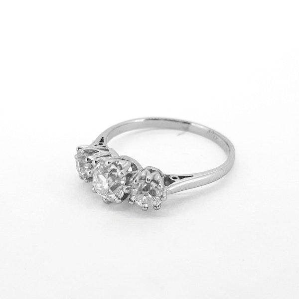 Diamond Trilogy Ring c1930 - image 3