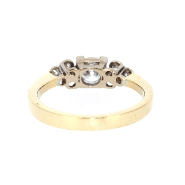 0.40ct Diamond Solitaire Ring. S.Greenstein - image 3