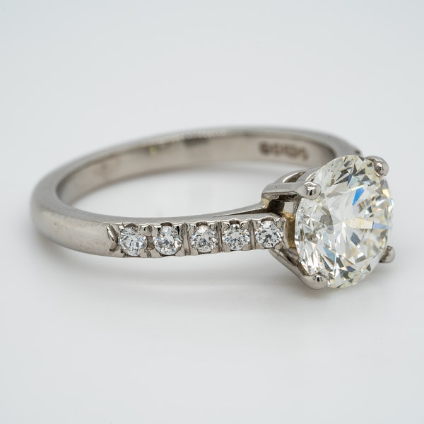 A Solitaire Diamond Engagement Ring Offered by The Gilded Lly - image 2