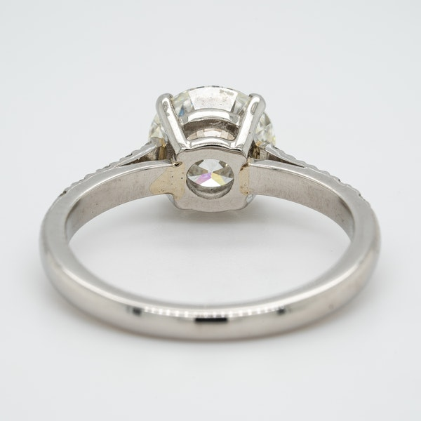 A Solitaire Diamond Engagement Ring Offered by The Gilded Lly - image 4