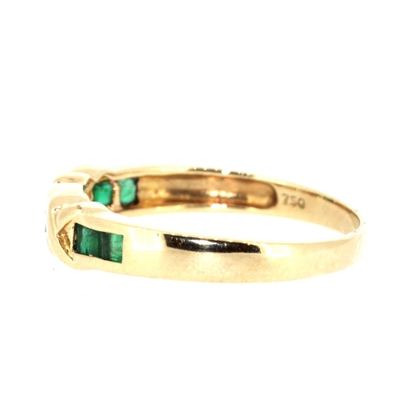 Fancy Emerald And Diamond Ring. S.Greenstein - image 2
