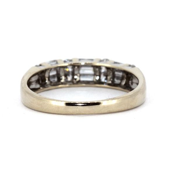 Fancy Half Eternity Ring. S.Greenstein - image 3
