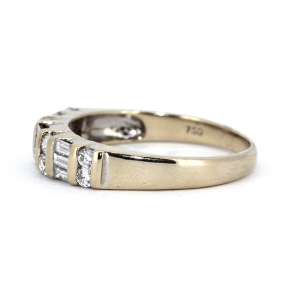 Fancy Half Eternity Ring. S.Greenstein - image 2