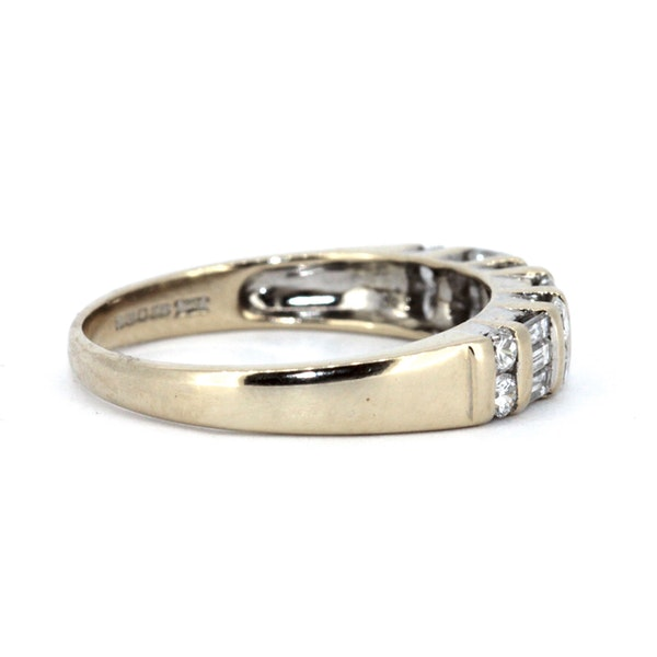 Fancy Half Eternity Ring. S.Greenstein - image 4