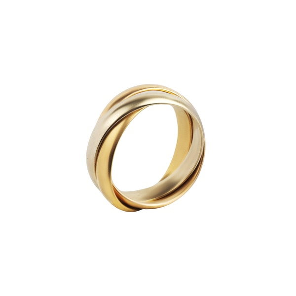 A Trinity Ring by Cartier - image 2