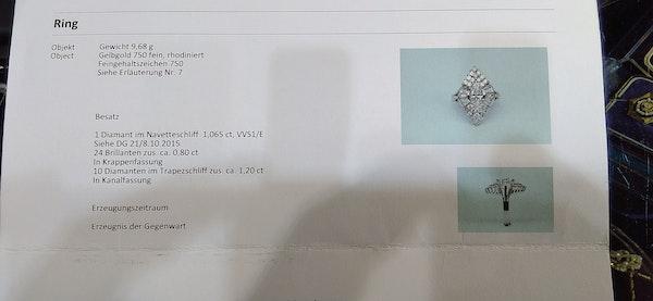 Diamond Cocktail Ring - image 6